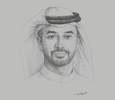 Sketch of Ahmed bin Sulayem, Chairman, Dubai Multi Commodities Centre (DMCC)