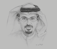 Sketch of Hamad Buamim, President and CEO, Dubai Chamber of Commerce and Industry