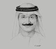 Sketch of Sultan Ahmed bin Sulayem, Chairman, Ports, Customs & Free Zone Corporation and Dubai Maritime City Authority