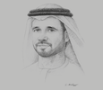 Sketch of Jamal Salem Al Dhaheri, CEO, Senaat