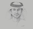 Sketch of Tariq Ahmed Saeed Al Wahedi, CEO, Agthia Group