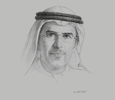 Sketch of Abdulla Jassem Kalban, Managing Director and CEO, Emirates Global Aluminium (EGA)