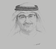 Sketch of Mohamed Jameel Al Ramahi, CEO, Masdar