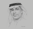 Sketch of Khamis Mohamed Buharoon, Acting CEO and Vice-Chairman, Abu Dhabi Islamic Bank (ADIB)