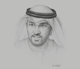 Sketch of Sultan Al Jaber, UAE Minister of State; and Group CEO, Abu Dhabi National Oil Company (ADNOC)