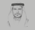Sketch of Awaidha Murshed Al Marar, Chairman, Department of Energy (DoE)