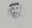 Sketch of Ahmed Ali Al Sayegh, Chairman, Abu Dhabi Global Market (ADGM)