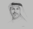 Sketch of Khaldoon Khalifa Al Mubarak, Group CEO and Managing Director, Mubadala Investment Company