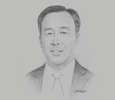 Sketch of Jingtao Bai, Managing Director, China Merchants Port Holdings Company