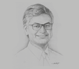 Sketch of Krishan Balendra, Chairman, John Keells Holdings
