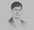 Sketch of Dilshan Wirasekara, CEO, First Capital Holdings