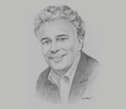 Sketch of Allard Nooy, CEO, InfraCo Asia