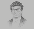 Sketch of Thilan Wijesinghe, Chairman, National Agency for Public- Private Partnership (NAPPP)