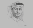 Sketch of Mohamed Badr Al Sadah, CEO, Hassad Food