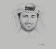 Sketch of Abdulla bin Abdulaziz bin Turki Al Subaie, Minister of Municipality and Environment; and CEO and Managing Director, Qatar Rail
