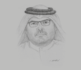 Sketch of Saad bin Ahmad Al Muhannadi, President, Public Works Authority (Ashghal)