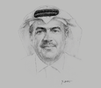Sketch of Nasser Al Ansari, Chairman and CEO, Just Real Estate
