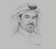 Sketch of Mubarak bin Abdullah Al Sulaiti, Chairman, Al Sulaiti Law Firm