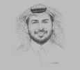 Sketch of Khaled Al Qureshi, CEO, Water and Electricity Company