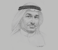 Sketch of Mohammed Al Mowkley, CEO, National Water Company