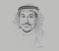 Sketch of Khalid Al Salem, Director-General, Saudi Authority for Industrial Cities and Technology Zones (MODON)