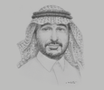 Sketch of Mohammed AlShaibi, CEO, Tamkeen Technologies