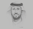 Sketch of Hisham bin Saad Aljadhey, CEO, Saudi Food and Drug Authority (SFDA)