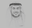 Sketch of Mazen Batterjee, Vice-Chairman, Jeddah Chamber of Commerce and Industry (JCCI)