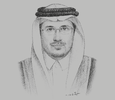 Sketch of Ahmed Alkholifey, Governor, Saudi Arabian Monetary Authority (SAMA)