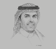 Sketch of Ibrahim Al Omar, Governor, Saudi Arabian General Investment Authority
