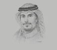 Sketch of Turki Al Hokail, CEO and Board Member, National Centre for Privatisation (NCP)