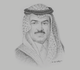 Sketch of Ajlan Abdulaziz Alajlan, Chairman of the Board, Ajlan & Bros; and Chairman, Riyadh Chamber of Commerce and Industry