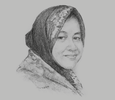 Sketch of Tri Rismaharini, Mayor of Surabaya