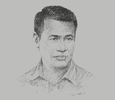 Sketch of Amran Sulaiman, Minister of Agriculture