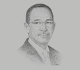 Sketch of Muhammad Anis, Rector, University of Indonesia