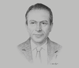 Sketch of Alaa Diab, CEO, Agriculture Group – PICO