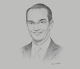 Sketch of Amr Talaat, Minister of Communications and Information Technology
