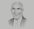 Sketch of  Cherif Hammouda, Managing Partner, RSM Egypt