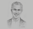 Sketch of Gianfranco Ferrari, CEO, Banco de Crédito del Perú