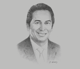 Sketch of Ricardo Guevara Bringas, Corporate Lawyer and Partner, RGB Avocats