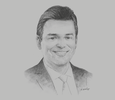 Sketch of Humberto Astete, Tax Partner, EY Perú