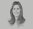 Sketch of Ángela Flores, Executive Director, National Association of Pharmaceutical Manufacturers