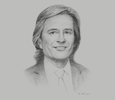 Sketch of Jaime Vargas, Tax Managing Partner and International Tax Services Leader, EY Colombia