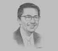 Sketch of Vince Dizon, President and CEO, Bases Conversion and Development Authority