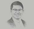 Sketch of Rahul Hora, CEO, AXA Philippines