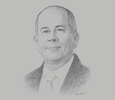 Sketch of Erramon Aboitiz, CEO and President, Aboitiz Equity Ventures and Aboitiz Power Corporation