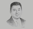 Sketch of Dennis A Uy, President and CEO, Phoenix Petroleum