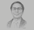 Sketch of Pocholo D Paragas, COO, Tourism Infrastructure and Enterprise Zone Authority (TIEZA)