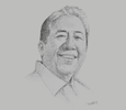 Sketch of Arthur P Tugade, Secretary of Transportation
