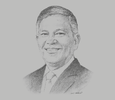 Sketch of Eddie Monreal, General Manager, Manila International Airport Authorityc